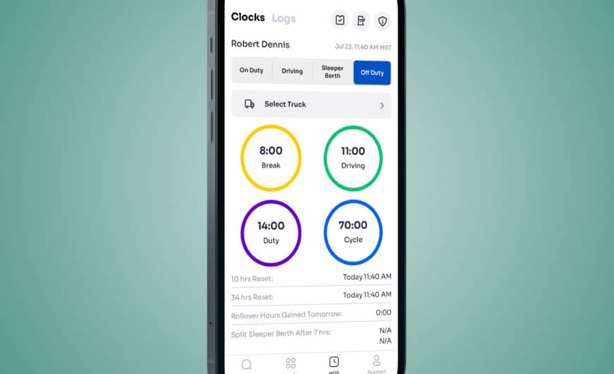 Creating a DVIR with the Xpress Technologies App