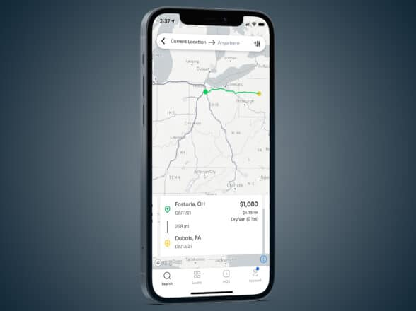Creating Your First Favorite Lane in the Xpress Technologies App